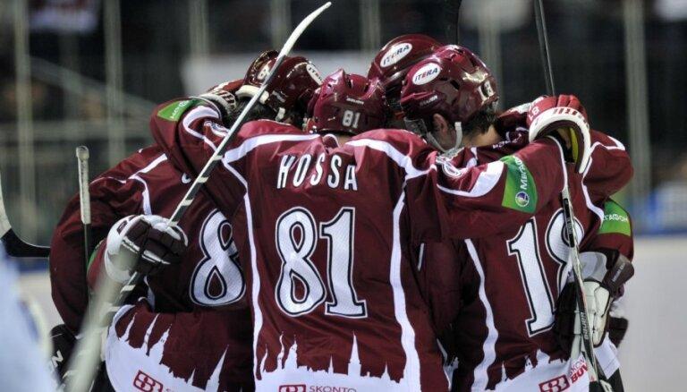 Динамовцы Риги первыми забросили СКА шесть шайб: как это было (ВИДЕО)