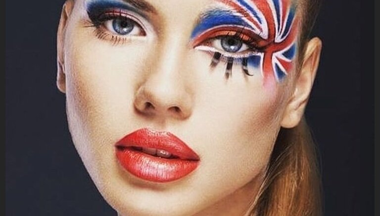 ФОТО. Боевой раскрас: как сделать футбольный макияж