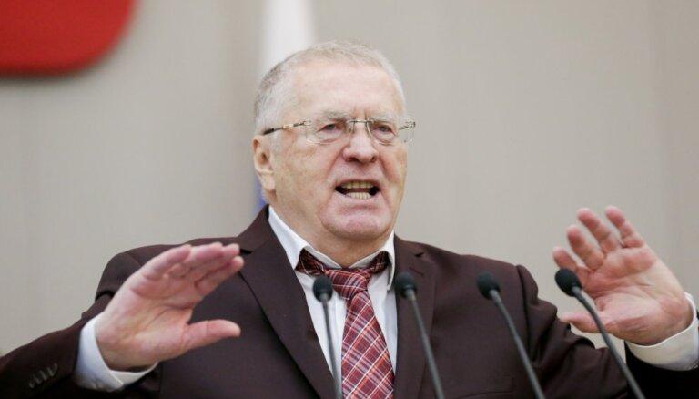 """Жириновский о секс-скандале в Госдуме: """"Не буду бегать и подсматривать"""""""