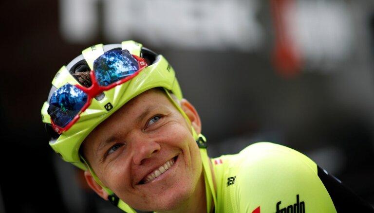 Skujiņam 111. vieta 'Tour de France' trešajā posmā