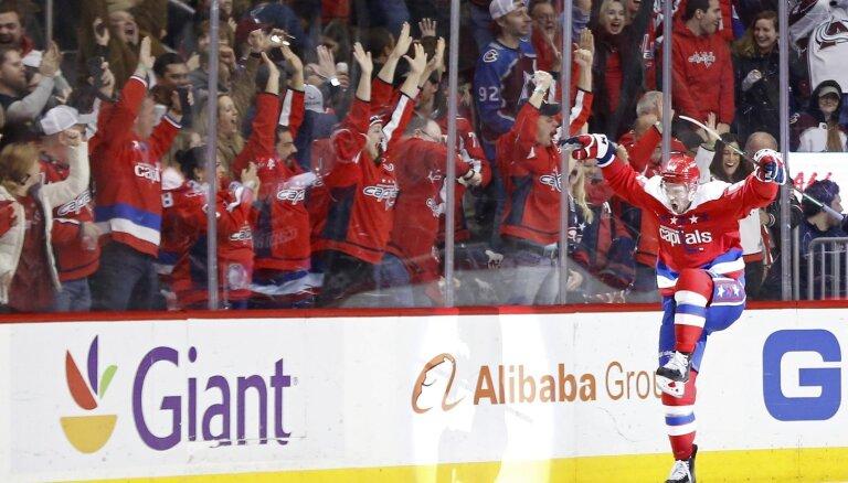NHL un 'Capitals' slēdz lietu pret krievu zvaigzni Kuzņecovu