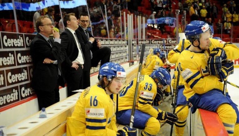 Zviedrijas hokeja izlases galvenais treneris Mortss pēc nākamā PČ atstās amatu