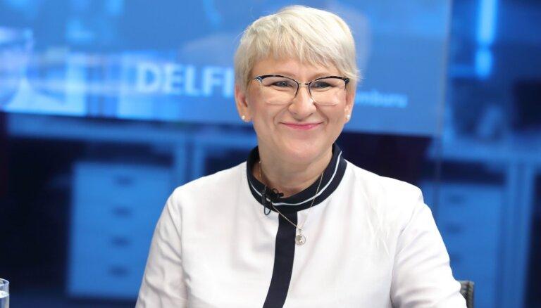 """Глава VID Яунземе на DELFI TV: мы не против, чтобы для предприятий общепита позволили ввести """"налоговые ваучеры"""""""