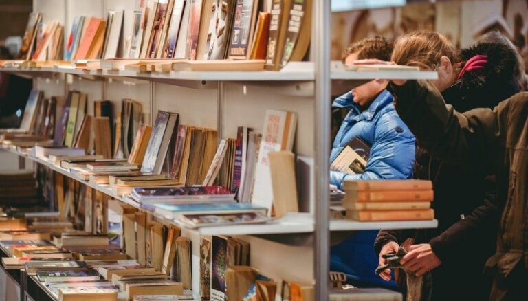 Ar plašu programmu norisināsies ikgadējā 'Latvijas Grāmatu izstāde'