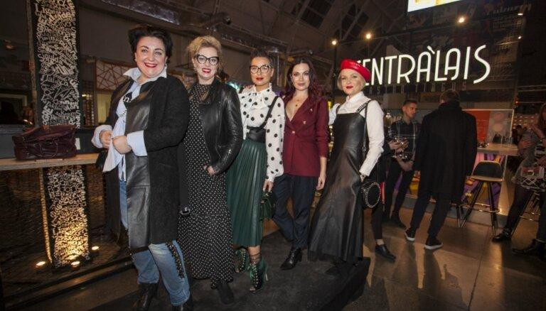 ФОТО: Наряды и гости открытия Рижской недели моды