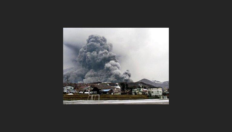 Japānā sākas vulkāna izvirdums