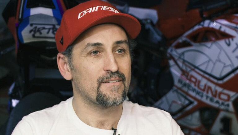 'Ātruma cilts' video: Bruno Rožkalna motosporta dzīves līkloči