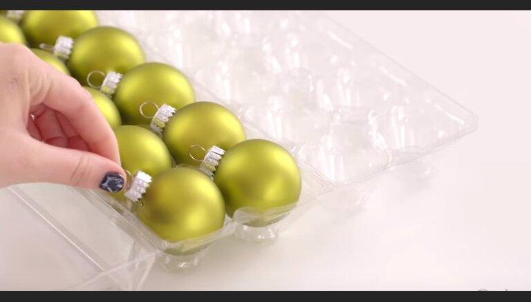 Vienkārši un parocīgi veidi, kā uzglabāt Ziemassvētku rotājumus līdz nākamajam gadam