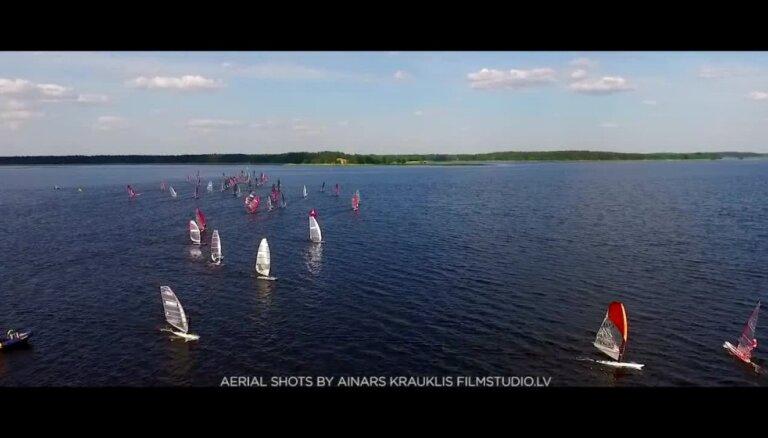 Pasaules čempionāts vindsērfingā Ķīšezerā 3. diena