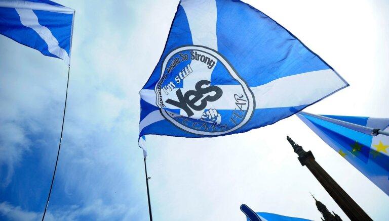 На выборах в Шотландии лидируют сторонники ее независимости