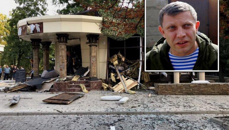 Ukrainā nogalina promaskavisko bandītu līderi Zaharčenko