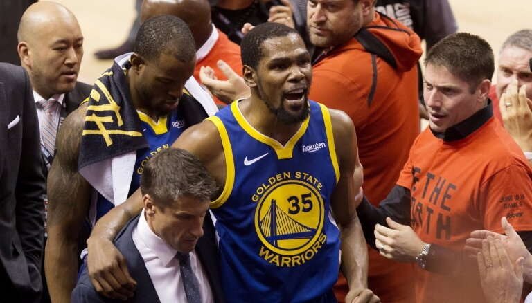 Kevins Durants par 'Warriors' pamešanu: uz nevienu citu klubu kā 'Nets' nedotos