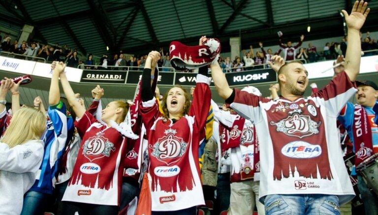 'Dinamo' ievērojams kāpums Eiropas apmeklētāko klubu rangā