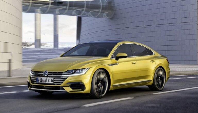 'Volkswagen' prezentējis četrdurvju kupeju 'Arteon'