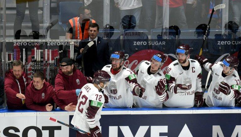 Latvijas izlase - viena no labākajām vairākumā PČ grupu turnīrā