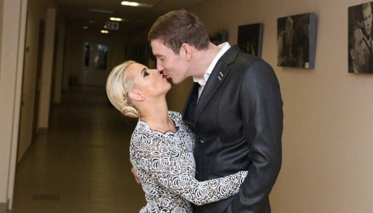 Foto: Kas notika 'Dejo ar zvaigzni' fināla aizkulisēs