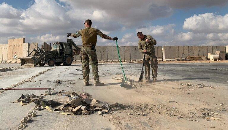 После обстрела американской базы Ираном говорили, что пострадавших нет. Теперь их больше ста