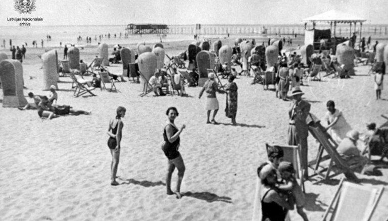 Arhīva foto: Kā kādreiz cilvēki Latvijā atpūtās siltajās vasaras dienās