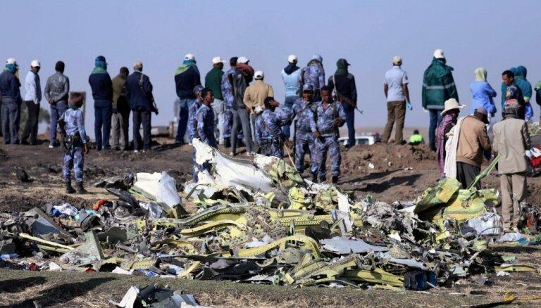 'Ethiopian Airlines' katastrofa: Piloti sekojuši norādītajām procedūrām