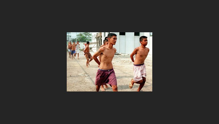 Еще один массовый побег из тюрьмы Бангкока