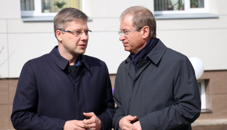 Ušakovs un Ameriks kandidēs EP vēlēšanās