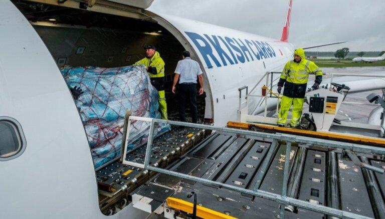 Foto: 'Turkish Cargo' uzsāk regulāros kravu pārvadājumus uz Rīgu