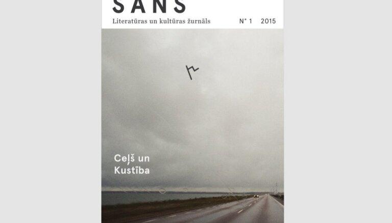 Klajā nācis literatūras un kultūras e-žurnāla 'Sans' pirmais numurs