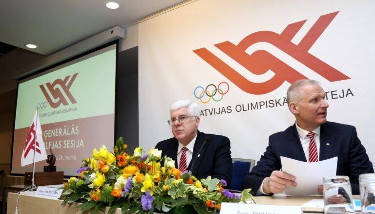 Latvijas Olimpiskā komiteja no SOK prasīs skaidrojumu saistībā ar Tokijas olimpiādi