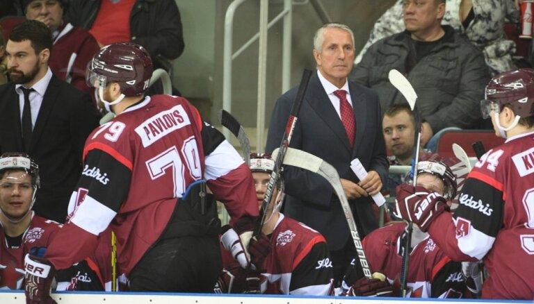 Latvijas hokeja izlase pārbaudes spēlē tiekas ar Zviedriju