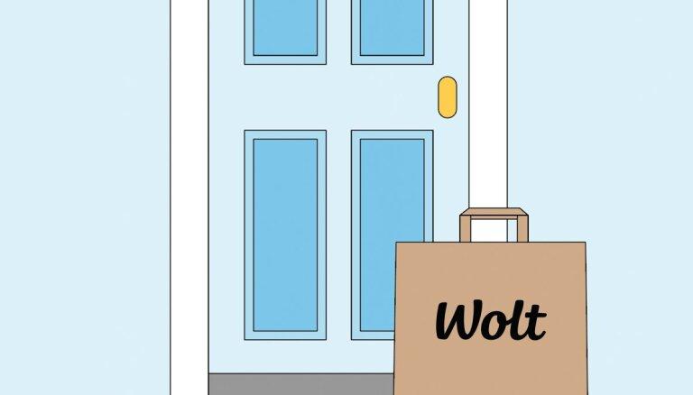 Kā izmantot bezkontakta piegādes opciju 'Wolt'?
