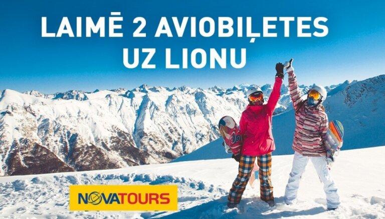 Noslēdzies konkurss par iespēju laimēt aviobiļetes uz Lionu no NOVATOURS
