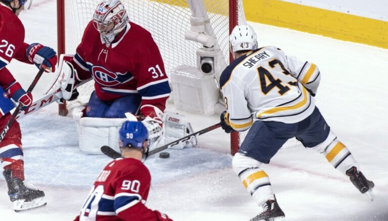 Girgensonam negatīvs lietderības koeficients 11 vārtu spēlē pret 'Canadiens'