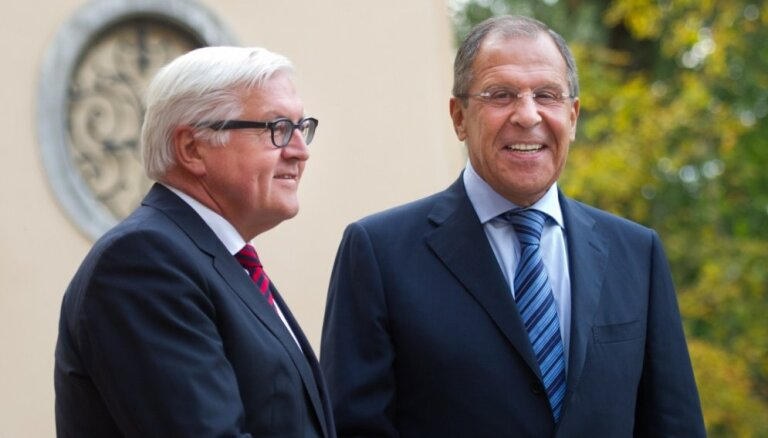 Глава МИД Германии допустил постепенное снятие с России санкций