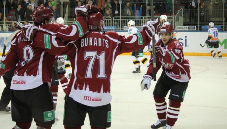 Skvorcovs sev dzimšanas dienā sagādā Rīgas 'Dinamo' ceturto uzvaru pēc kārtas
