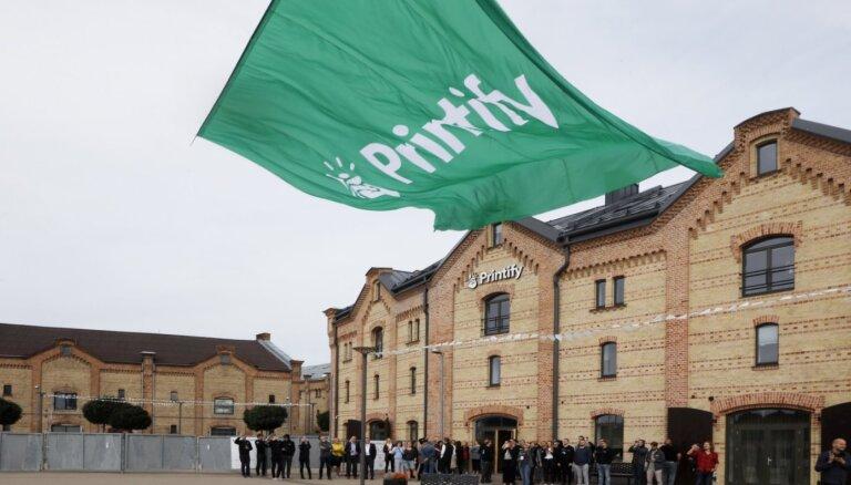 Foto: 'Printify' atklāj uzņēmuma jauno ēku Spīķeru kvartālā