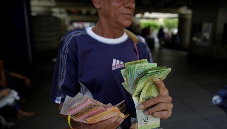 Venecuēla 2020. gadu noslēgusi ar teju 3000% inflāciju