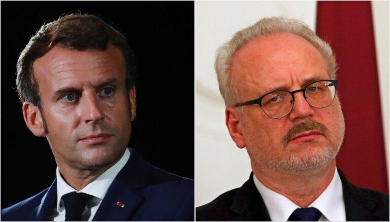 В Латвию с официальным визитом прибывает президент Франции