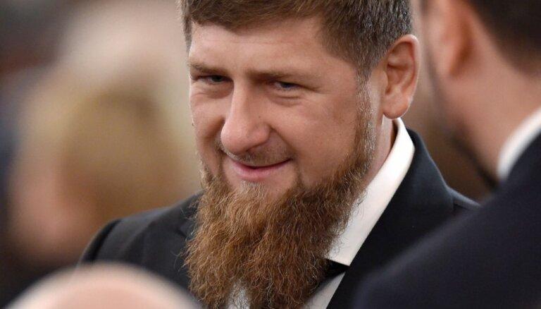Čečenijas līderis Kadirovs, iespējams, saslimis ar Covid-19