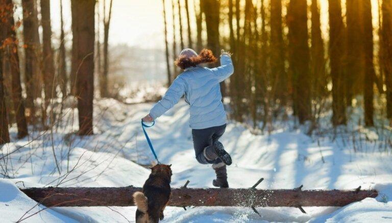 Ieteikumi, lai ziemā netrūktu kustību un pavasarī nebūtu jātievē
