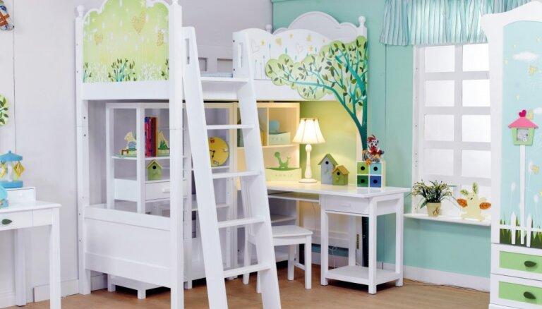 Kā no pasaku grāmatām – fantastiskas idejas bērnistabu gultām