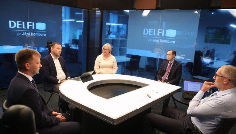 'Delfi TV ar Jāni Domburu': atbild Rīgas pašvaldības pagaidu administratori un izpilddirektore