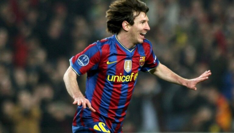 Mesi atzīts par sezonas labāko futbolistu Spānijā