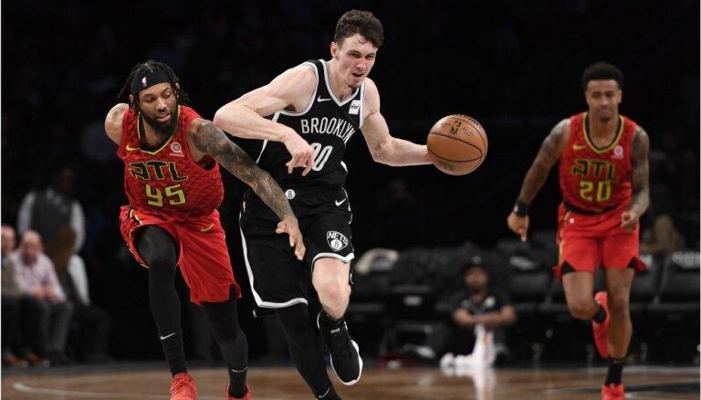 Kurucs ar 11 punktiem palīdz Bruklinas 'Nets' atgriezties uz uzvaru takas