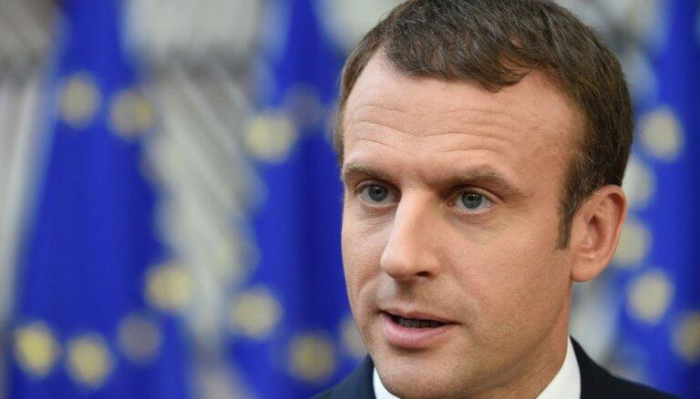 Makrons aicina izveidot īstu Eiropas armiju