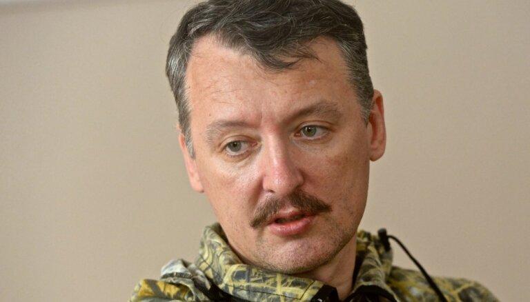 Ukrainā kaujinieku rindās vairojas panika; Strelkovs centies bēgt