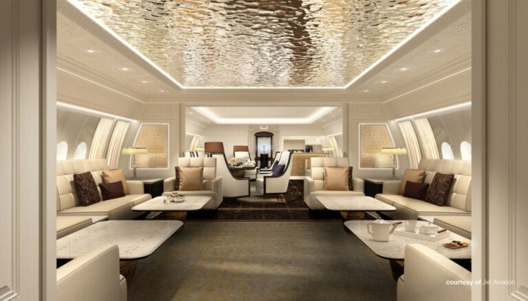 ФОТО: Boeing презентовал бизнес-джет для самых долгих перелетов