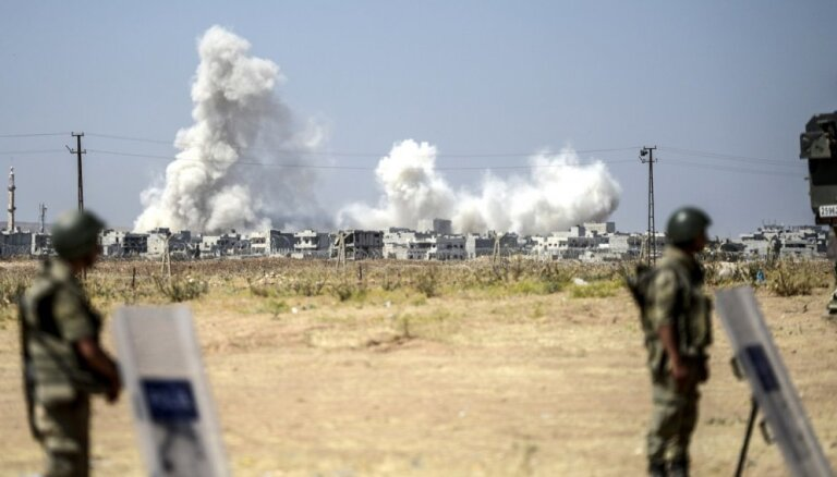 ASV nesadarbosies ar Krieviju uzlidojumos Sīrijā