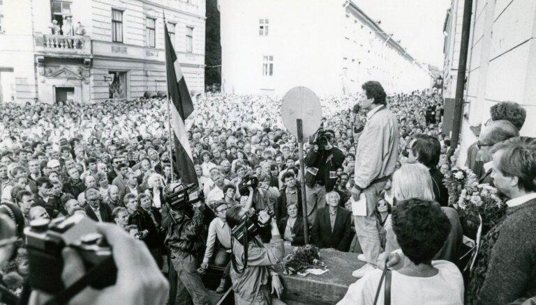 Aprit 30 gadi kopš Latvijas atzīšanas de facto