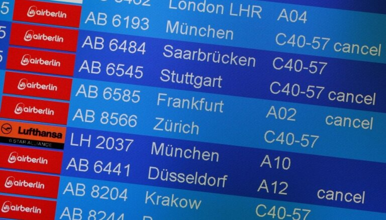 В Германии бастуют сотрудники Службы безопасности аэропортов: отложены сотни рейсов