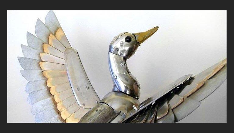 Foto: Iespaidīgas stīmpanka stilā veidotas skulptūras